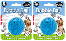 Pet Qwerks Talking Babble Ball Dog Toy - 3 Sizes Available