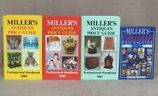 """4x """"Miller's Antiques Price Guide"""" Books, Illustrated, 1988-1991 - GREAT!!!"""