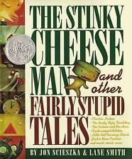 The Stinky Cheese Man and Other Fairly Stupid Tales by Jon Scieszka, Lane Smith (Hardback, 1992)