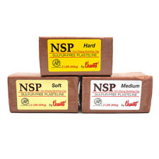 Chavant NSP Clay for modelling and sculpting 5 Variants available  moulding clay