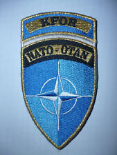 FRENCH ARMY / FOREIGN LEGION  NATO - OTAN KFOR  KOSOVO FORCE ARM PATCH.