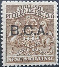 More details for bca/nyasaland 1891 one shilling sg 7 mint