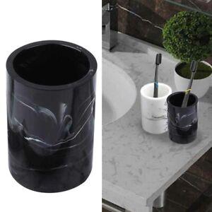 Marble Swirl Bathroom Tumbler Toothbrush Cup Gargle Wash Resin Nordic Style New