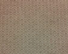 "MARCOVALDO CHENILLE DIAMOND TAN HEAVY UPHOLSTERY FABRIC BY THE YARD 54""W"