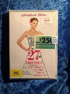 27 Dresses Brand New Unopened Region 4 DVD Free Postage