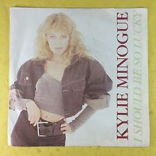 Kylie Minogue - I Should Be So Lucky - PWL Records PWL-8 Ex Condition