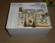 DEPT. 56   [ CHRISTMAS VACATION ]   NATIONAL LAMPOON'S  GRISWOLD  HOUSE    NIB