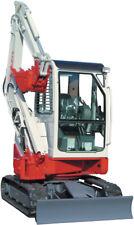 TAKEUCHI  TB28FR  Compact Excavator  Operator's  & Parts Manual CD