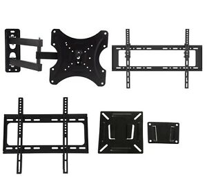 Black Tilting Wall Mount Bracket for Magnavox 32MF337B//27 LCD 32 inch HDTV TV