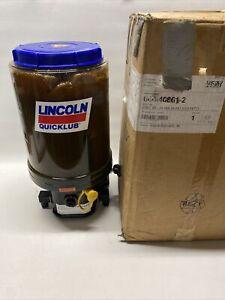 NEW Lincoln P203-8XLBO-1K6-24-2A1.01 Lubrication Pump