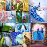 5D DIY Full Drill Diamond Painting Peacock Cross Stitch Needlework Home Decor