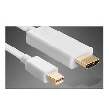 Thunderbolt Mini DisplayPort DP To HDMI Cable for Mac / NUC / Surface Pro 1.8m