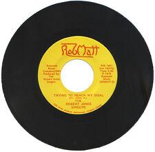 "ROBERT JONES SINGERS  ""TRYING TO REACH MY GOAL""  SCARCE 70's DANCE MONSTER"