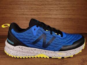 New Balance Nitrel v3 Mens All Terrain Running Shoes Size 12 Blue Black Yellow