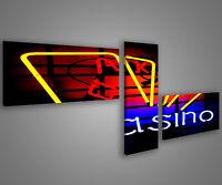Quadri moderni astratti 180 x 70 stampe su tela canvas con telaio MIX-S_129