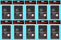 1000 ULTRA PRO BLACK PRO-MATTE STANDARD SIZE DECK PROTECTORS Card Sleeves MTG