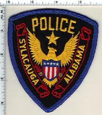 Sylacauga Police (Alabama) Shoulder Patch - uniform take-off from 1989