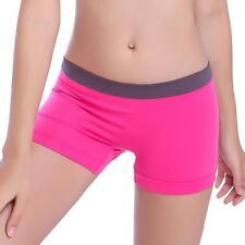 Women Summer Sexy Skinny Yoga Shorts Sports Gym Workout Waistband Pure Pants M*