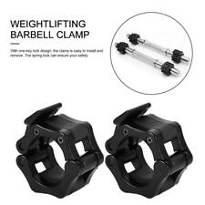 2PCS Barbell Gym Weight Lifting Bar Dumbbell Lock Clamp Collar Clips 25/28/30mm