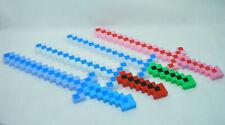 ÉPÉE Led PIXEL 8-BITS avec SON et Lumiere inspiré de Minecraft Blocs Pixelisés