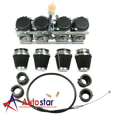 Carburetor & Throttle Cable Air Filter Carburetor Interface For Honda CB400