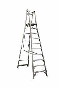 INDALEX Pro Series Aluminium Platform Ladder 13ft/10ft (4.0m/3.0m)