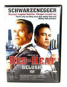 Red Heat (DVD, 1988) Arnold Schwarzenegger Region 4 Free Postage