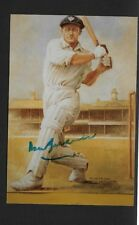 DON BRADMAN UNFRAMED 6 BY 4 INCH PHOTO SIGNED WILL COME WITH ITS OWN C.O.A
