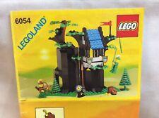 LEGO 6054 Forestmen's Hideout Vintage Set, Lego Castle