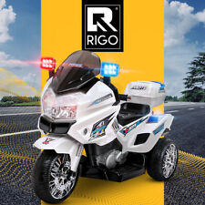 Rigo Kids Ride On Car Motorbike Electric S1K Inspired Police Patrol Cars Bike