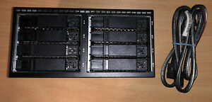 HP 8x SFF HDD Gen 8 Drive Cage Expansion Kit incl SAS 2.5 Backplane