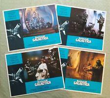 Battlestar Galactica vintage original Lobby Cards Lot of 4 1978 11x14