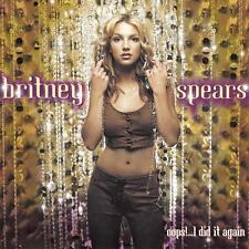 BRITNEY SPEARS - OOPS!....I DID IT AGAIN - CD, 2000