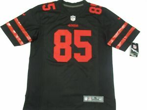 New George Kittle #85 San Francisco 49ers Game On-Field Jersey Black