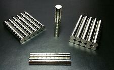 "20 Neodymium N52 Cylinder Magnets Super Strong Rare Earth Disc 3/8"" × 1/4"""