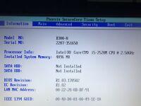 Getac B300 Intel Core i5-2520M 2.50GHz 4GB Ram with UNLOCKED BIOS