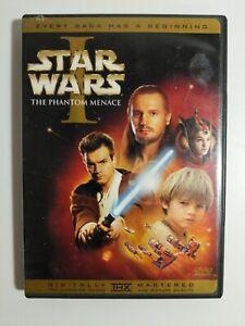Star Wars Episode I: The Phantom Menace (DVD, 2001, 2-Disc Set, English and Fre…