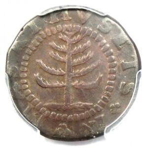1652 Massachusetts Pine Tree Shilling 1S - Certified PCGS VF Details - Rare Coin