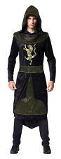 Medievale Prince CON CAPPUCCIO ROBE Costume gioco di THRONES NUOVO