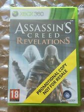 BRAND NEW SEALED ASSASIN'S CREED REVELATIONS PROMO RELEASE XBOX 360 MICROSOFT