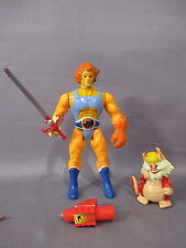"Thundercats 1985 ""LION-O & SNARF"" Orange Hair Complete VINTAGE LJN Action Figure"