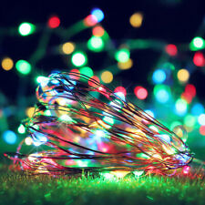 50 Led Usb Wire String Lights Fairy Christmas Party Decor Holiday Wedding �