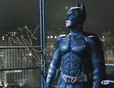 CHRISTIAN BALE SIGNED 11X14 PHOTO 'BATMAN' AUTHENTIC AUTOGRAPH BAS BECKETT COA Q