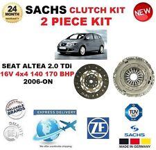 Para Seat Altea 2.0 TDI 16V 4x4 140 170 BHP 2006-ON Kit de embrague SACHS 2 Pieza Nueva