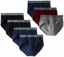 BVD Men's 7 Pack Fashion Brief Multi Medium NEW FREE SHIPPING