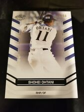 2018 Leaf Rare BLUE Parallel Insert #/50 Shohei Ohtani Rookie w rare Mike Trout