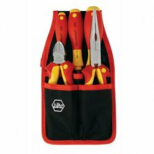 Wiha 32872 Insulated Screwdrivers and Pliers Belt Pack Kit, 5 Piece