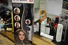 Kiss Insta Wave Automatic Curler Curling Iron Hair Styler KAC101 White IN BOX