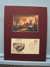 The Declaration of Independence & 200th Anniversary Commemorative Cover