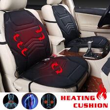 3 Level Car Seat Heater Warmer Heated Cushion Pad Cover UK Black 12V 45W 30-60°C